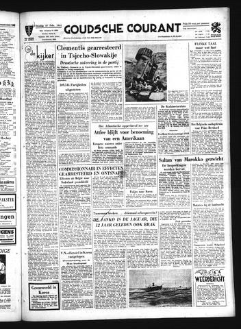 Goudsche Courant 1951-02-27