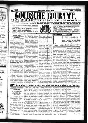 Goudsche Courant 1929-05-11
