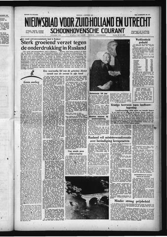 Schoonhovensche Courant 1958-10-03