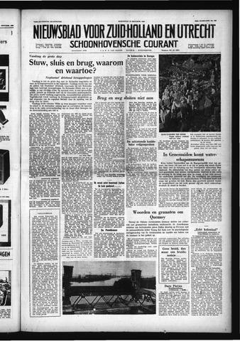 Schoonhovensche Courant 1958-10-22