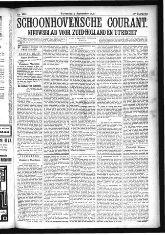 Schoonhovensche Courant 1925-09-02