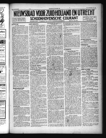 Schoonhovensche Courant 1946-10-28