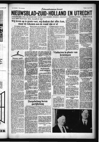 Schoonhovensche Courant 1966-04-22