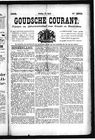 Goudsche Courant 1883-04-22