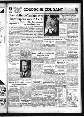 Goudsche Courant 1957-05-04