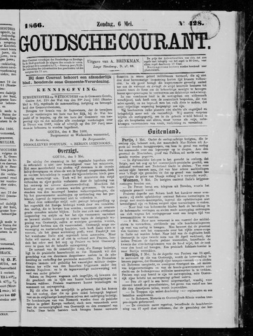 Goudsche Courant 1866-05-06