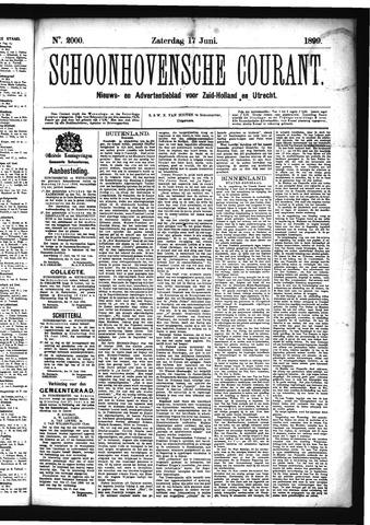 Schoonhovensche Courant 1899-06-17