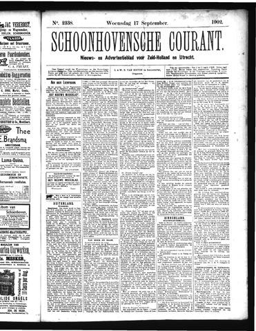 Schoonhovensche Courant 1902-09-17