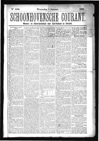 Schoonhovensche Courant 1895