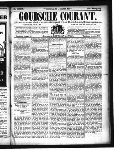 Goudsche Courant 1917-01-10