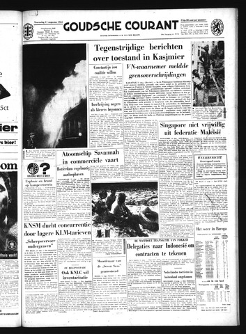 Goudsche Courant 1965-08-11
