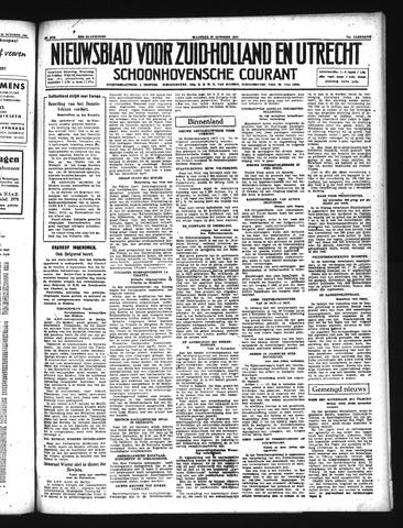 Schoonhovensche Courant 1941-10-27