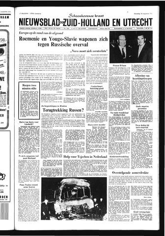 Schoonhovensche Courant 1968-08-26