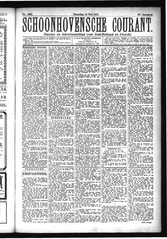 Schoonhovensche Courant 1922-05-15