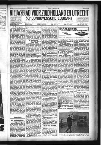 Schoonhovensche Courant 1933-02-10