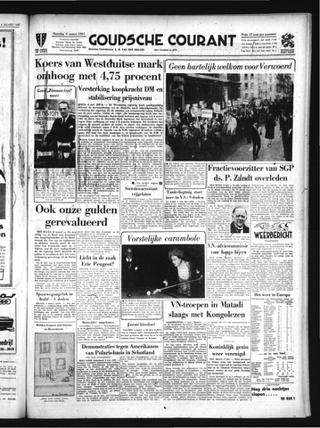 Goudsche Courant 1961-03-06