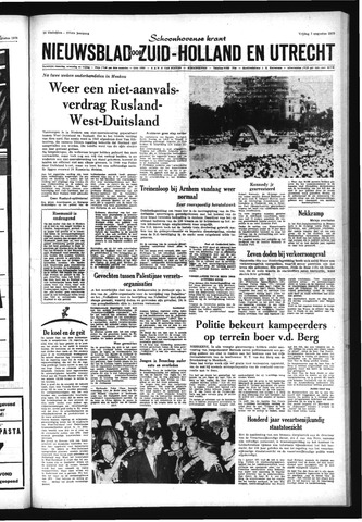Schoonhovensche Courant 1970-08-07
