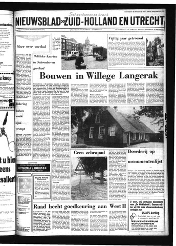 Schoonhovensche Courant 1978-08-30