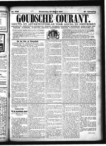 Goudsche Courant 1923-03-22