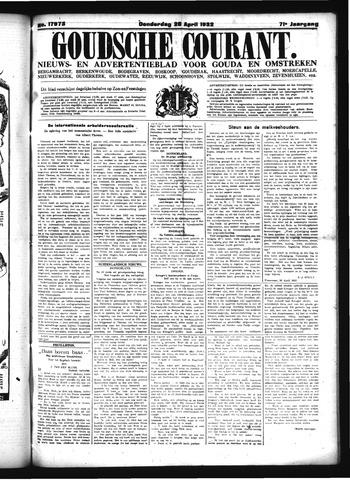 Goudsche Courant 1932-04-28