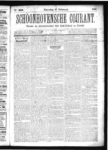 Schoonhovensche Courant 1909-02-27