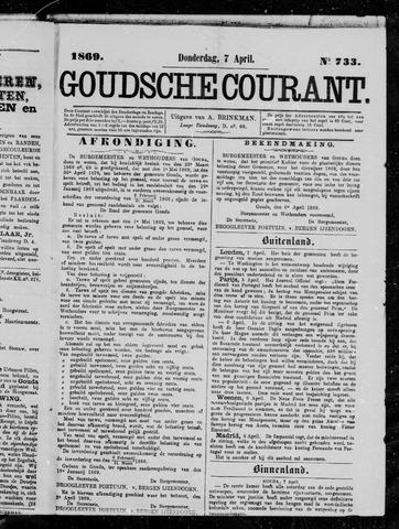 Goudsche Courant 1869-04-07