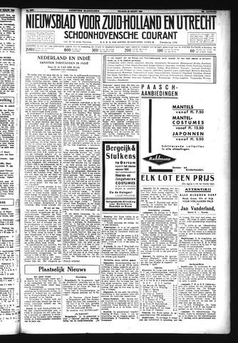 Schoonhovensche Courant 1934-03-23