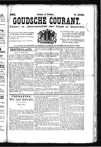 Goudsche Courant 1892-02-16