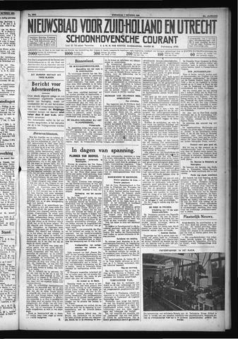 Schoonhovensche Courant 1931-10-07