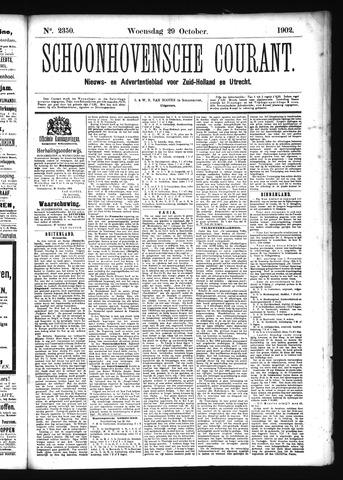 Schoonhovensche Courant 1902-10-29