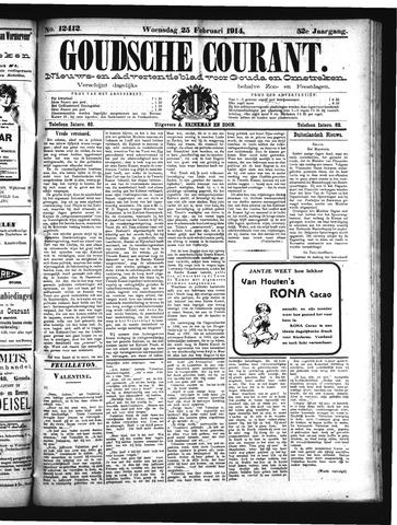 Goudsche Courant 1914-02-25