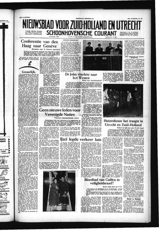 Schoonhovensche Courant 1955-12-14
