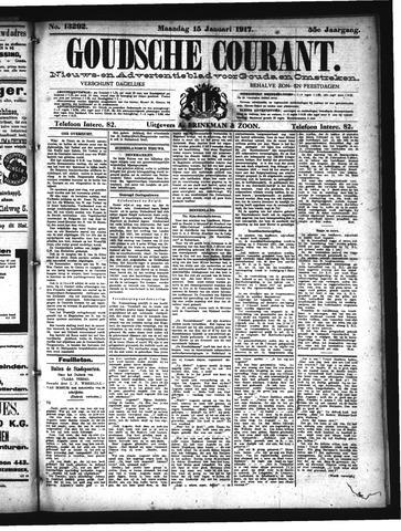 Goudsche Courant 1917-01-15