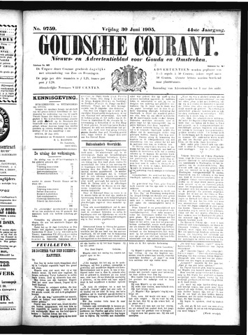 Goudsche Courant 1905-06-30