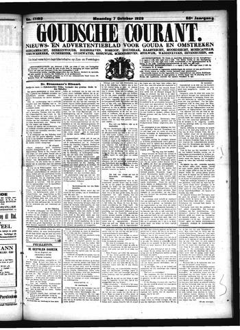 Goudsche Courant 1929-10-07