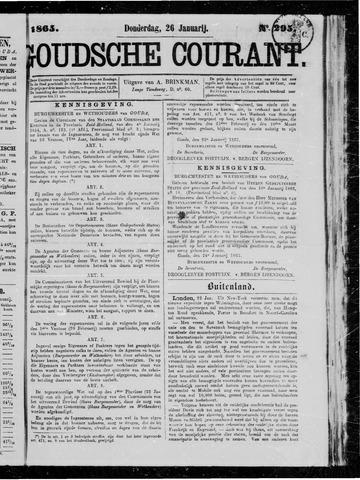 Goudsche Courant 1865-01-26