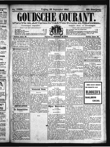 Goudsche Courant 1911-09-22