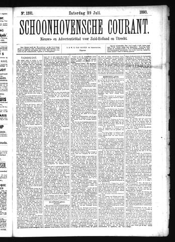 Schoonhovensche Courant 1893-07-29