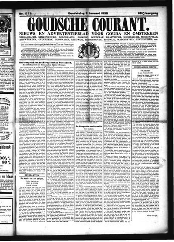Goudsche Courant 1930-01-09