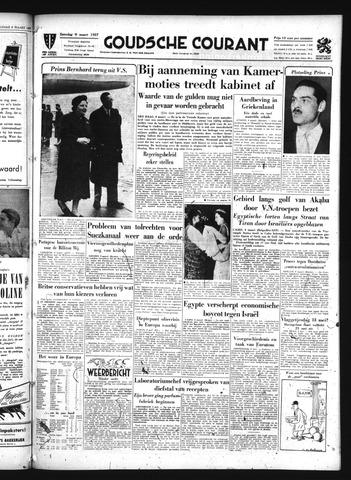 Goudsche Courant 1957-03-09