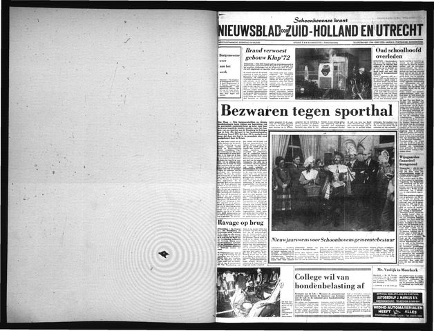 Schoonhovensche Courant 1980