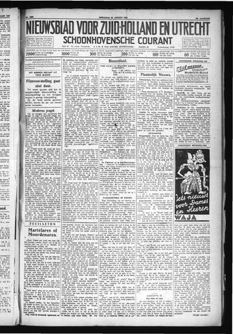 Schoonhovensche Courant 1930-01-29