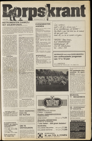 Dorpskrant 1985-06-26