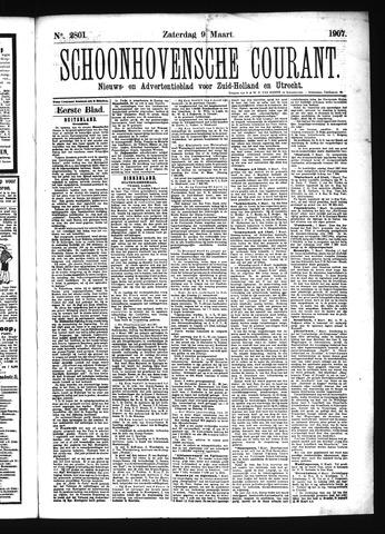 Schoonhovensche Courant 1907-03-09