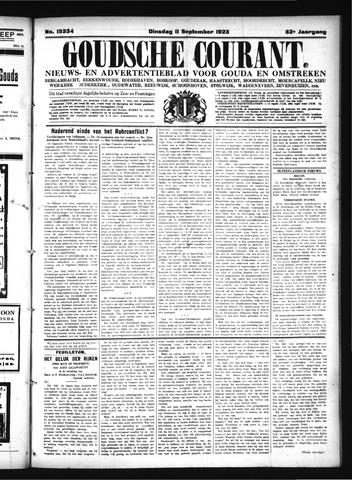 Goudsche Courant 1923-09-11