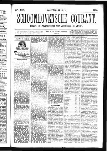 Schoonhovensche Courant 1905-05-27
