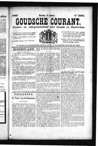 Goudsche Courant 1893-01-23
