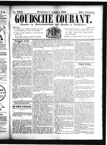 Goudsche Courant 1909-08-05
