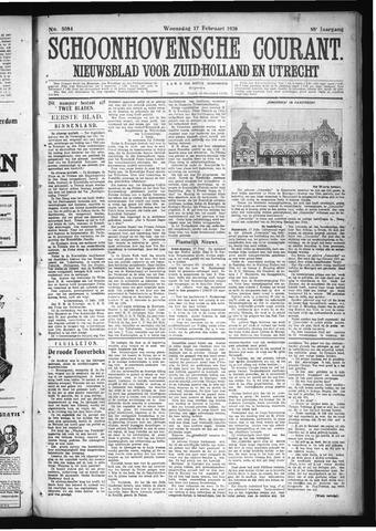 Schoonhovensche Courant 1926-02-17