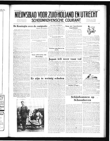 Schoonhovensche Courant 1952-04-28